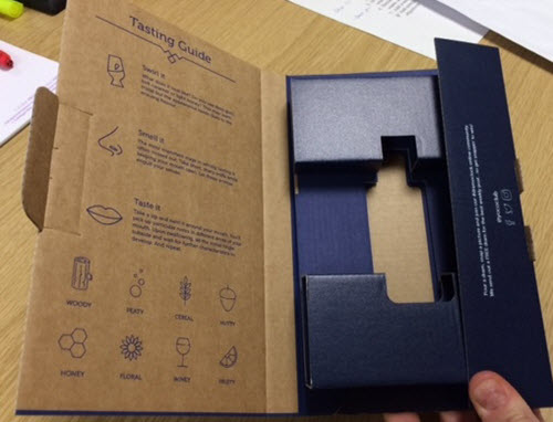 Premium packaging for whisky subscription club